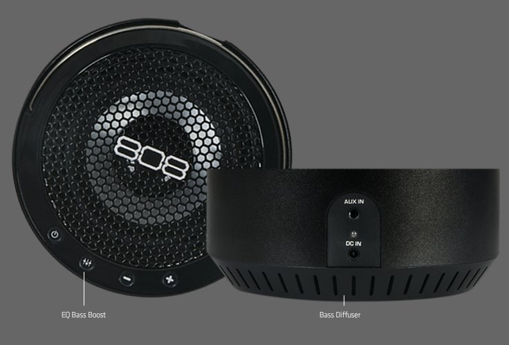 808 Audio : Portable Bluetooth Speakers : Everyday Speakers : SP360