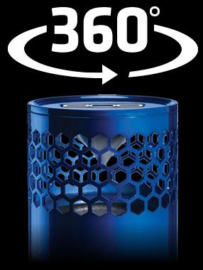 808 HEX SL 360 degree sound Bluetooth speaker