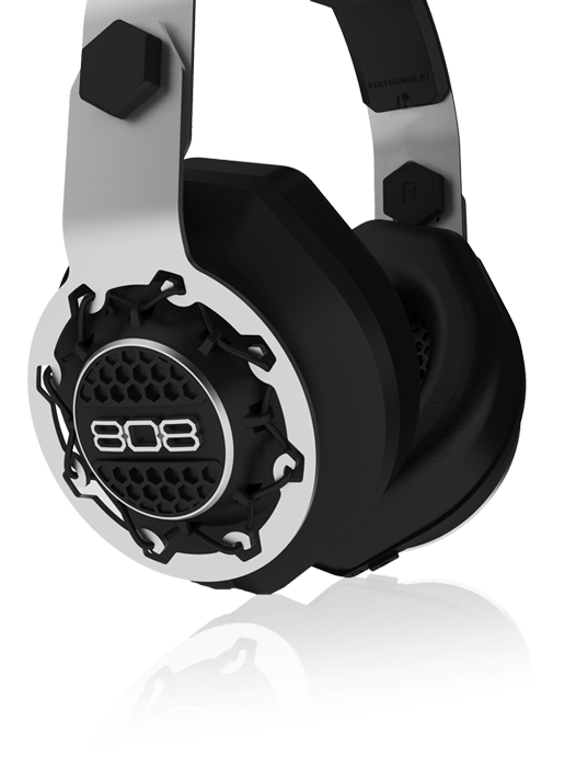 808 Performer BT Bluetooth wireless headphones comfortable design