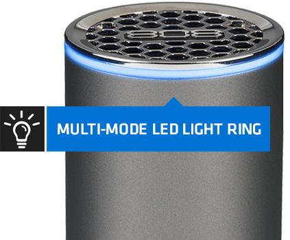 808 NRG GLO LED wireless Bluetooth speaker