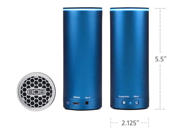 808 NRG GLO lightweight portable speaker