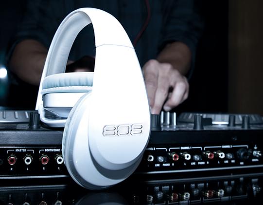 808 Studio style headphones