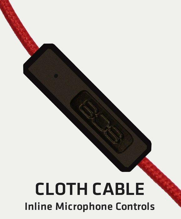 808 Shox BT cloth cable