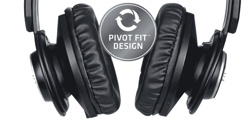 808 Shox BT wireless comfortable fit headphones
