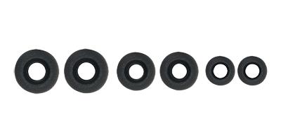 808 BUDZ earbuds tip sizes