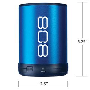808 CANZ speaker size