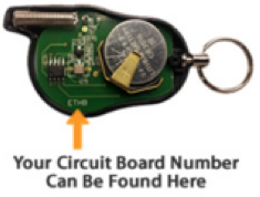 Omega Circuit Board Number Information
